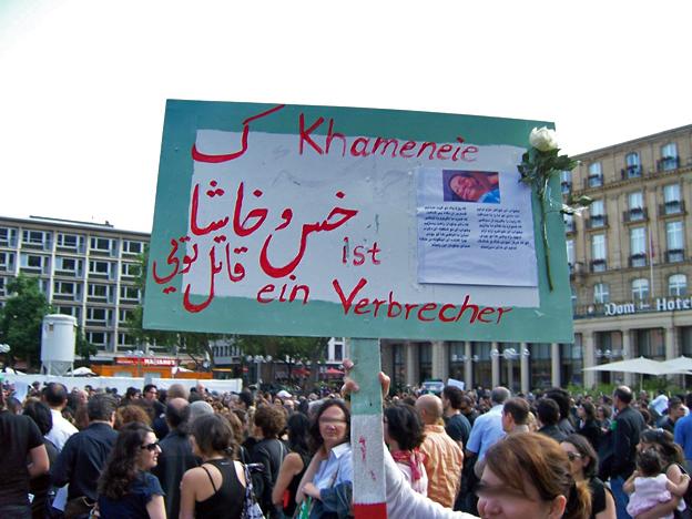 Wahre Worte. Köln, 23. Juni 2009