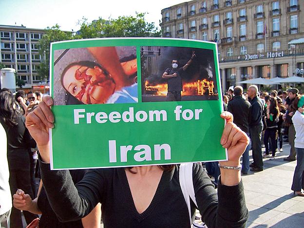 Freiheit für den Iran! Köln, 23. Juni 2009