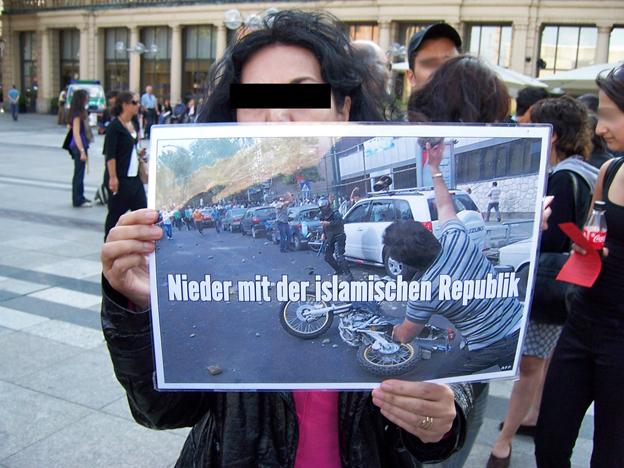 Deutliche Worte. Köln, 23. Juni 2009